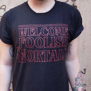 Lost Bro's haunted mansion shirt
